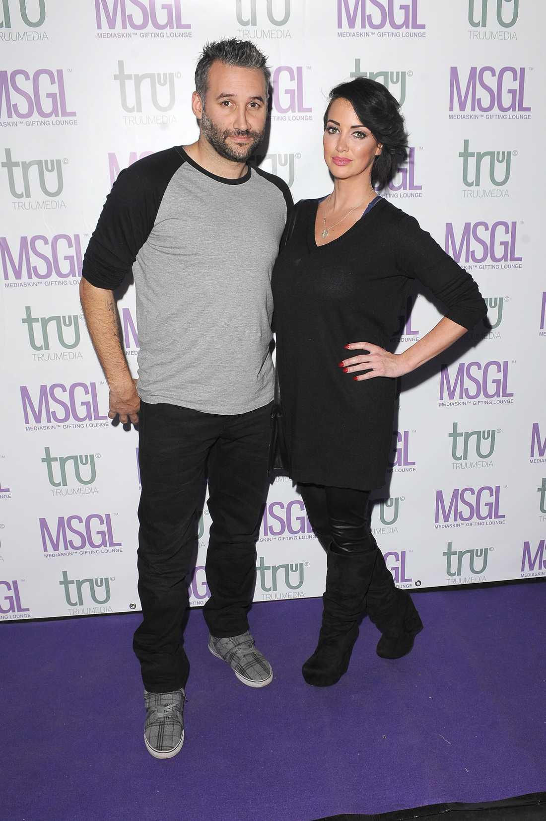 Dave Bowers och ex-flickvännen Sophia Cahill