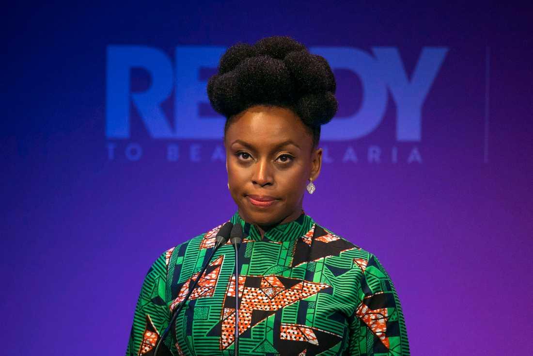 Chimamanda Ngozi Adichie skriver om förlusten av en far. Arkivbild.