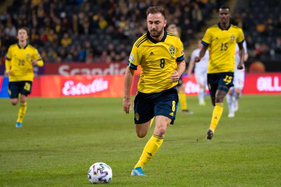 Muamer Tankovic är tillbaka i landslaget efter sin succésäsong i Hammarby. Arkivbild.