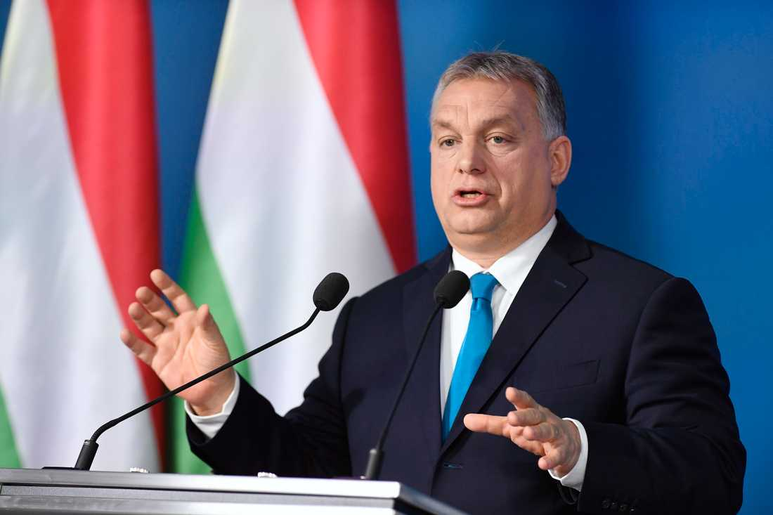 Den ungerske premiärministern Viktor Orbán. Arkivbild.