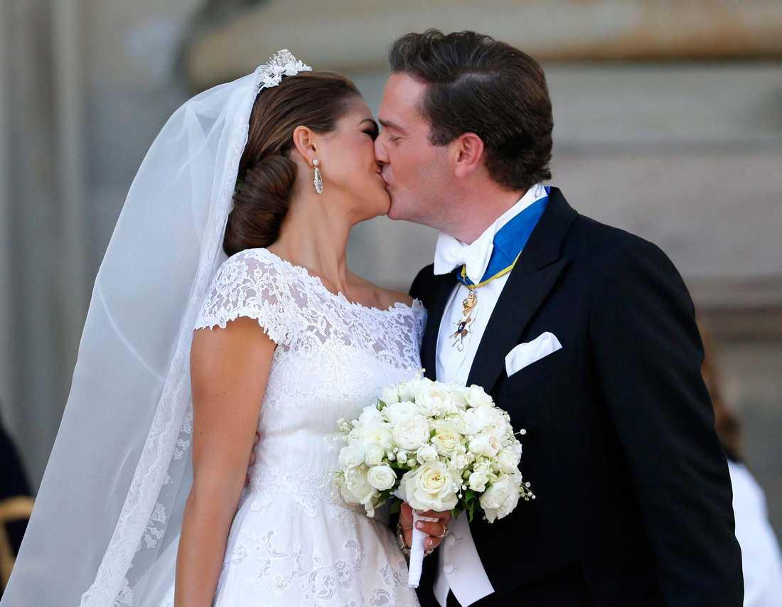 Prinsessan Madeleine fick sin Chris O'Neill.