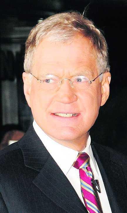 ... David Letterman. Det har Conan O'Brien också.