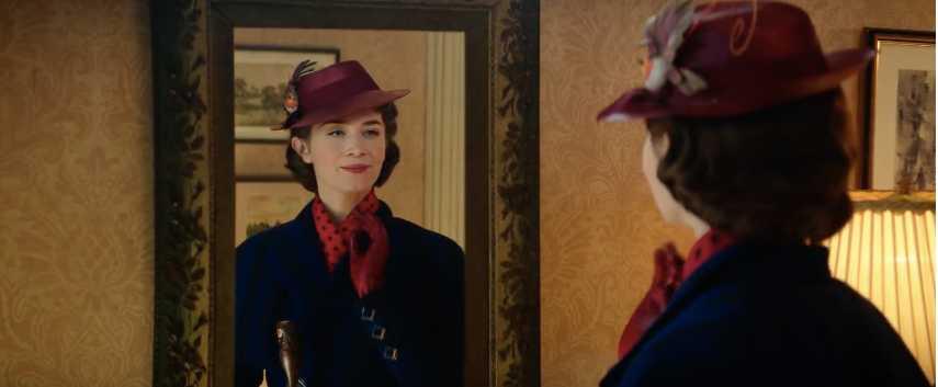 """Emily Blunt i """"Mary Poppins kommer tillbaka""""."""