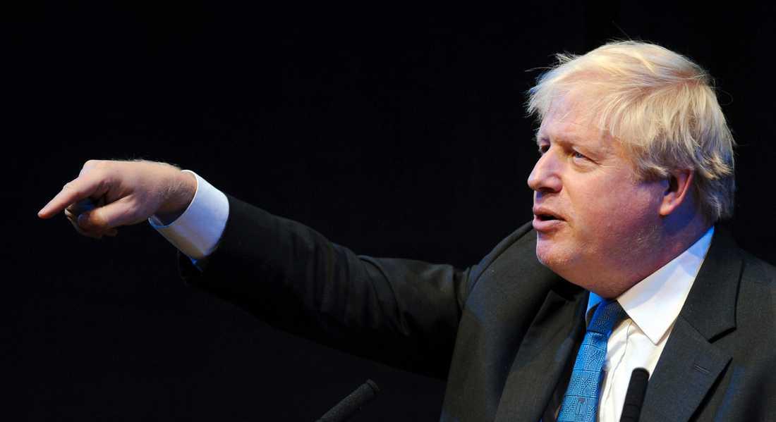 En domstol har beslutat att Boris Johnson inte ska förhöras med anledning av att han anklagats för att ha ljugit under brexitkampanjen 2016. Arkivbild.