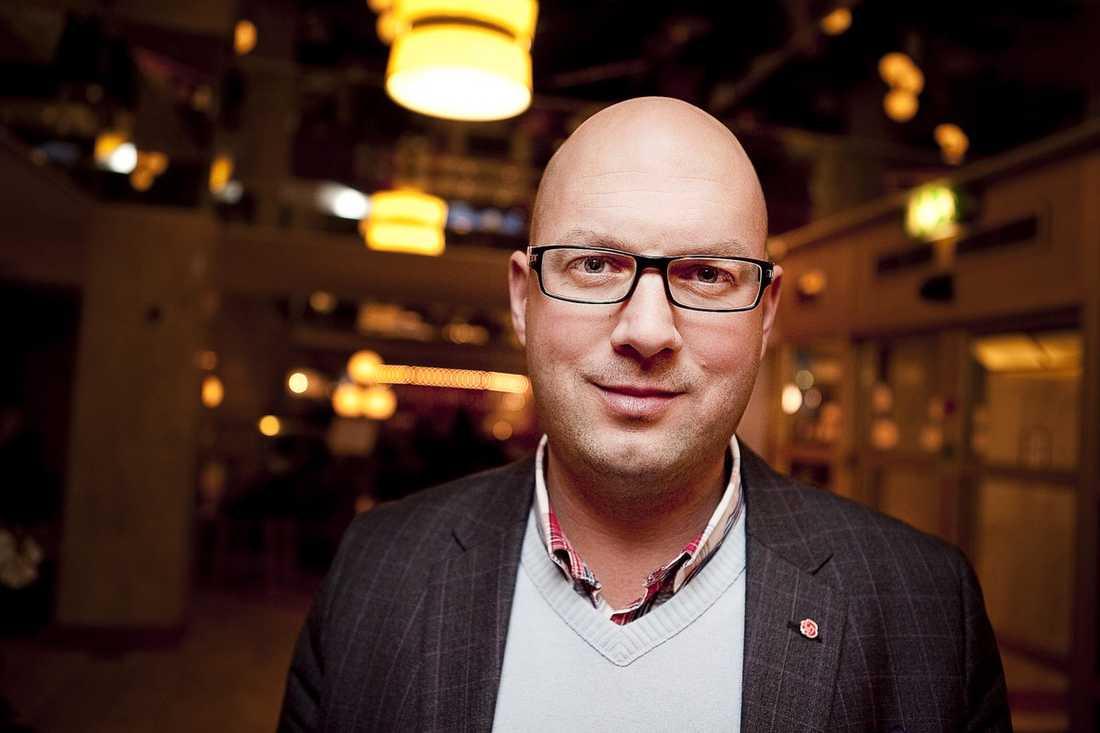 Anders Johansson (S), kommunalråd i Sigtuna.