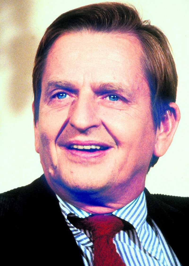 Statsminister Olof Palme sköts den 28 februari 1986.