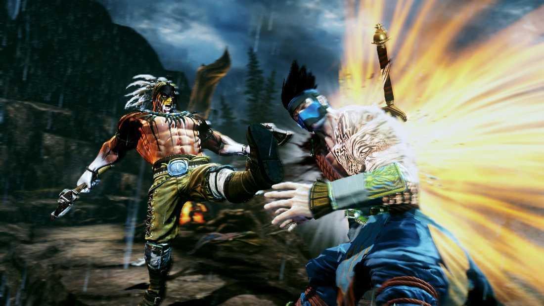 """Killer instinct"", en av lanseringstitlarna till Xbox One."