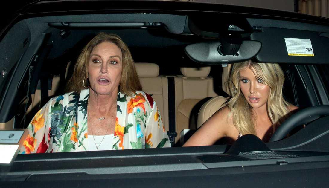 Sophia Hutchins och Caitlyn Jenner.