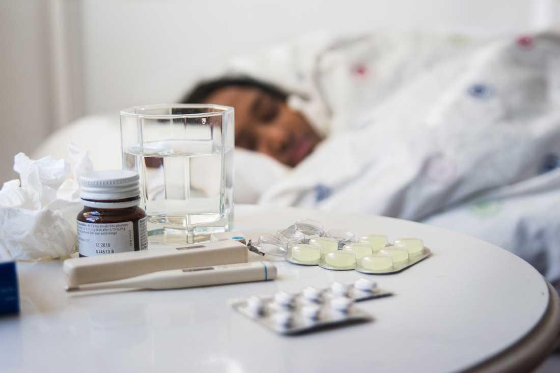 Influensan väntas öka de närmsta veckorna.