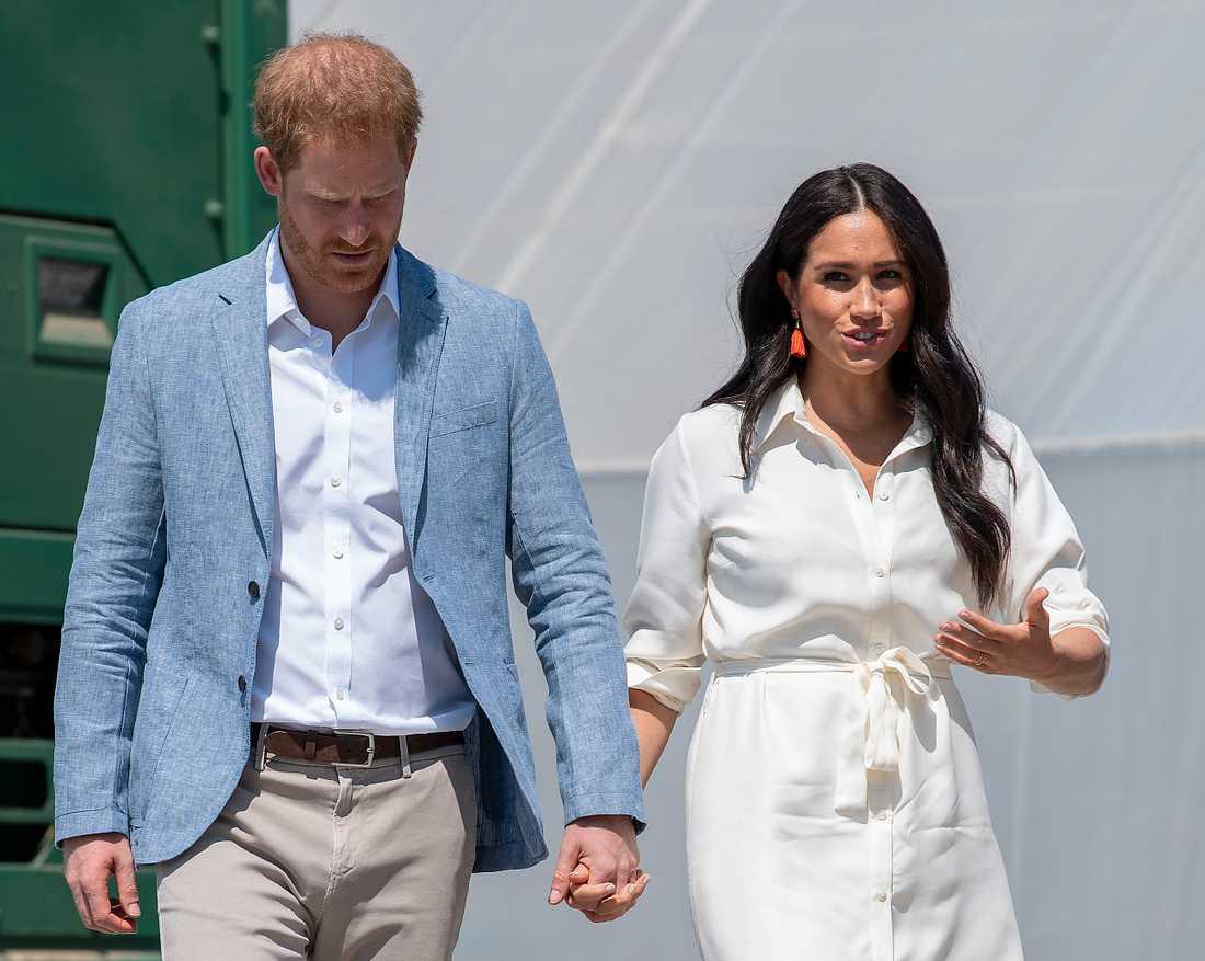 Det skakar rejält kring prins Harry och Meghan Markle.