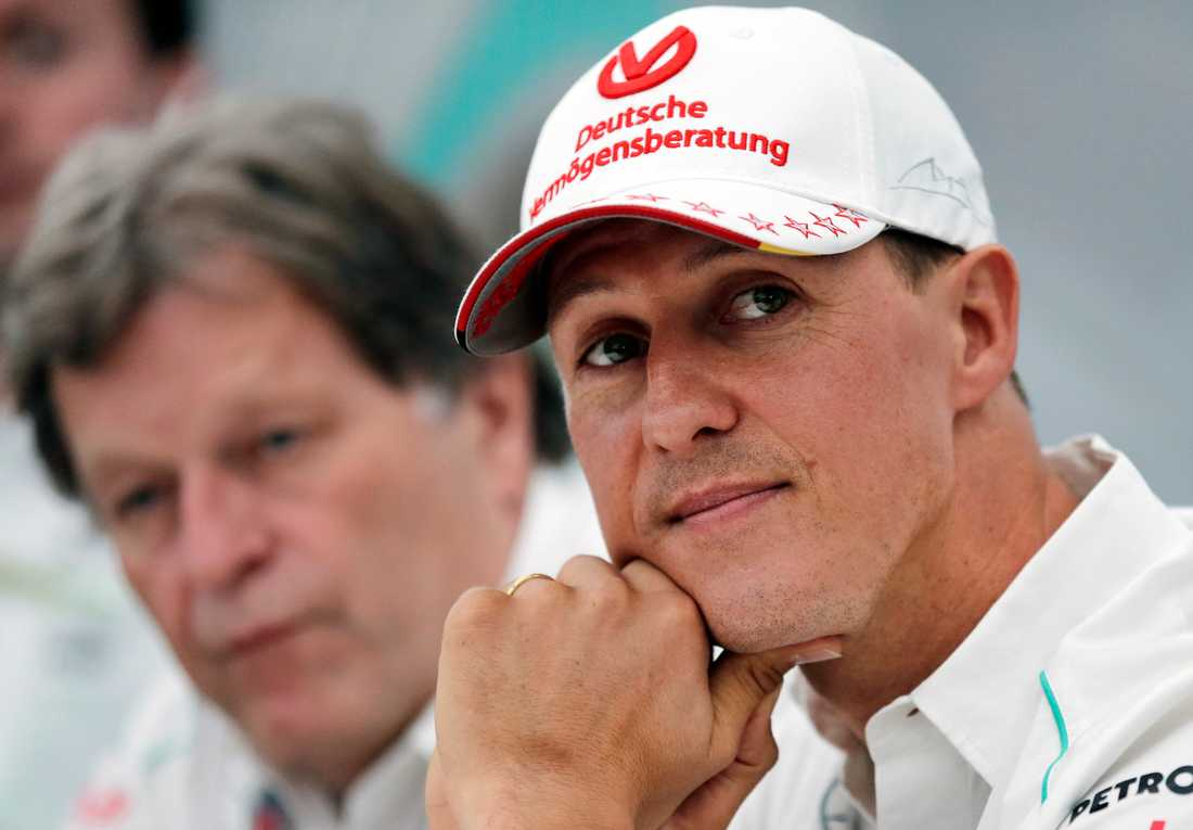 Michael Schumacher 2012.