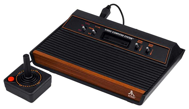 Atari var länge kända för sina speldatorer. Atari 2600 såg dagens ljus 1980.