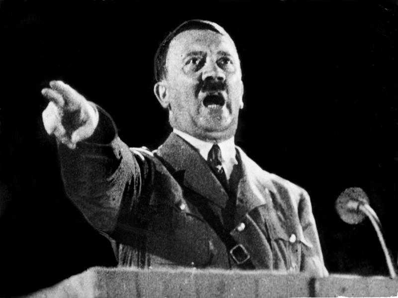 Adolf Hitler.