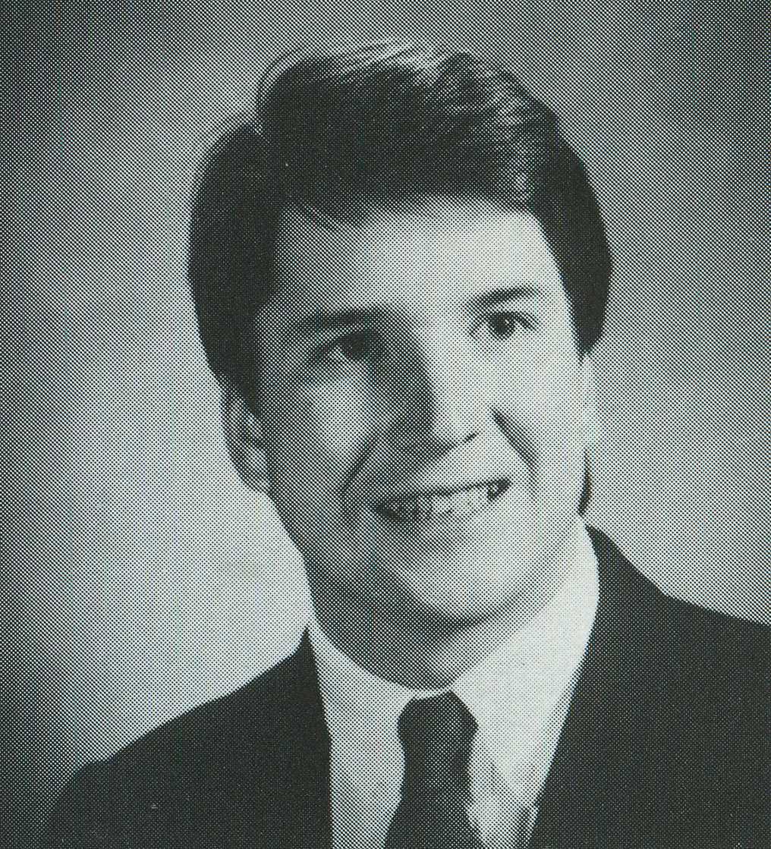 Brett Kavanaugh i Yales årsbok.