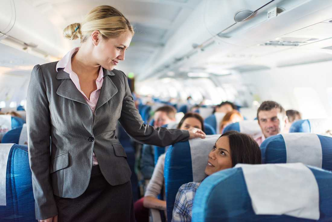 Du kan få massor av saker på flyget, om du bara frågar.