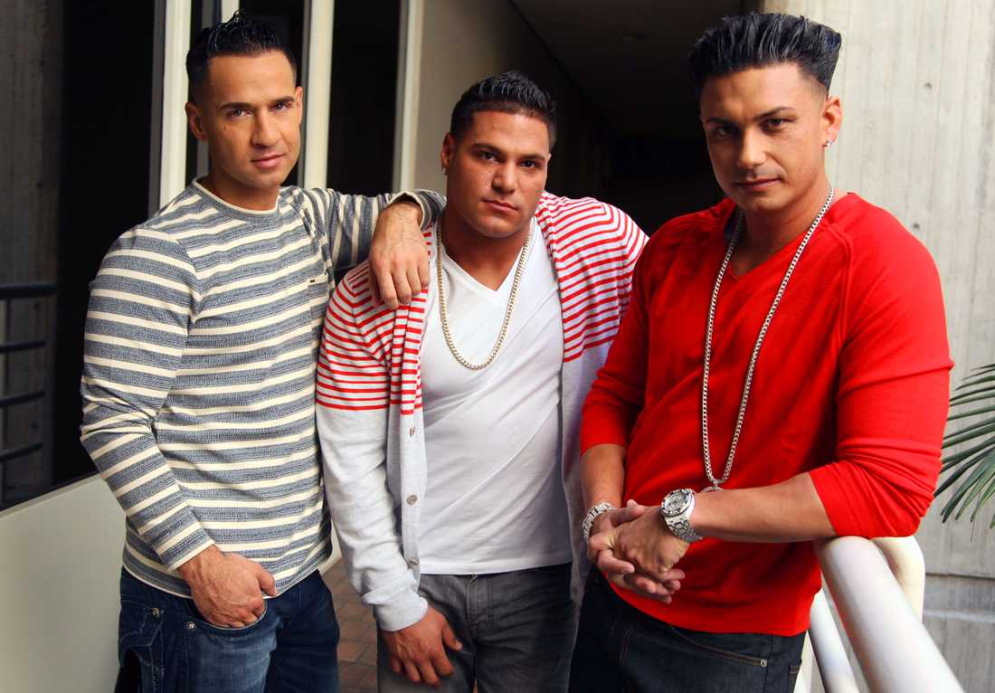 "Mike ""The Situation"" Sorrentino, Ronnie Ortiz-Magro och Paul ""Pauly D"" DelVecchio."