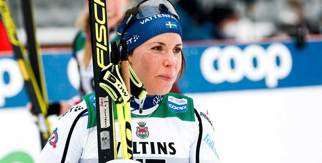 Charlotte Kalla är klar för sitt åttonde VM i skidor.