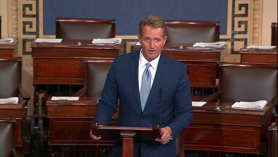Republikanske senatorn Jeff Flake.