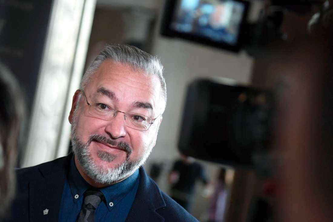 Alfons Karabuda, ordförande i SKAP och Musiksverige. Arkivbild.