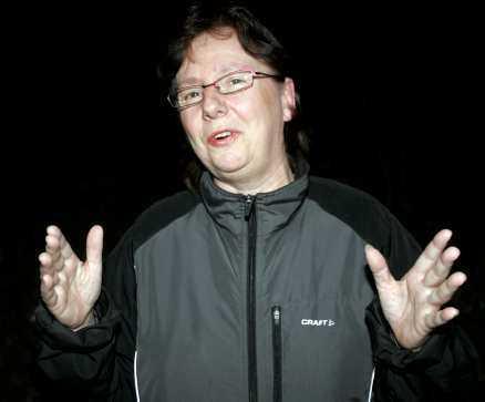 """HAN SKREK"" Barbro Bergholtz blev vittne till olyckan."