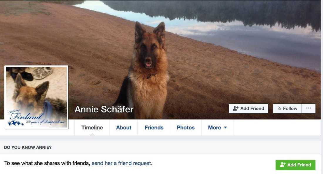 """""""Annie Schäfer""""."""