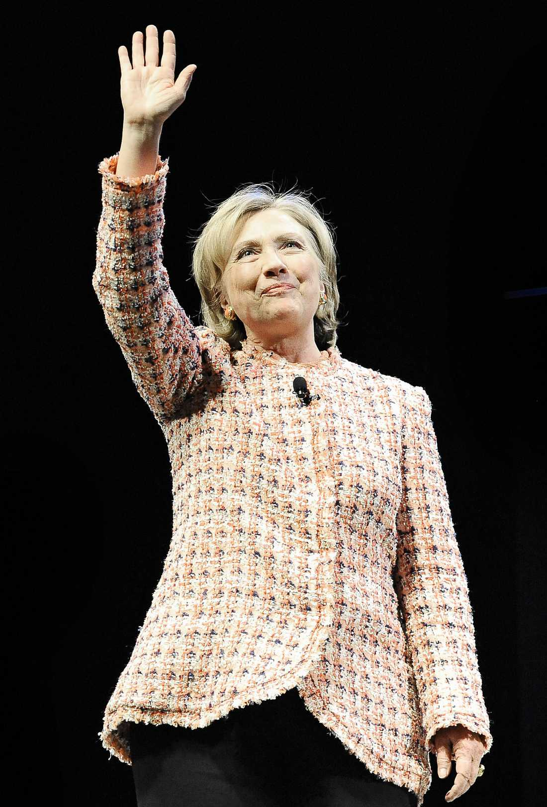 Hillary Clinton, fd utrikesminister i USA.