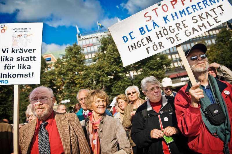 har fått nogSå här såg det ut under en PRO-demonstration för rättvisa skatter i centrala Stockholm 2008. I dag gör organisationen en ny ansträngning – och startar en kampanj i hela landet.
