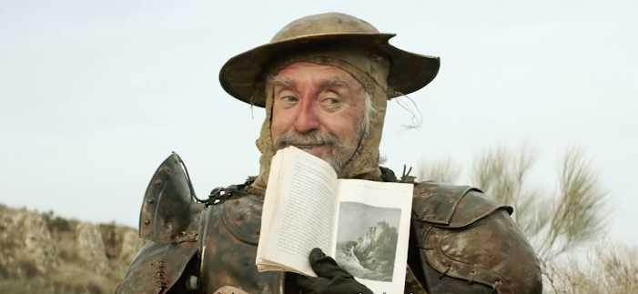 Jonathan Pryce som Don Quixote.