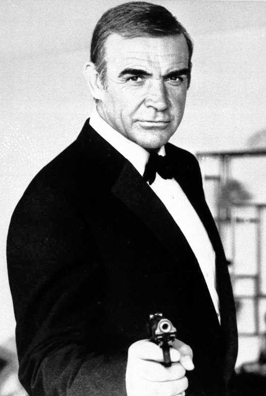 Sean Connery,1962–67.