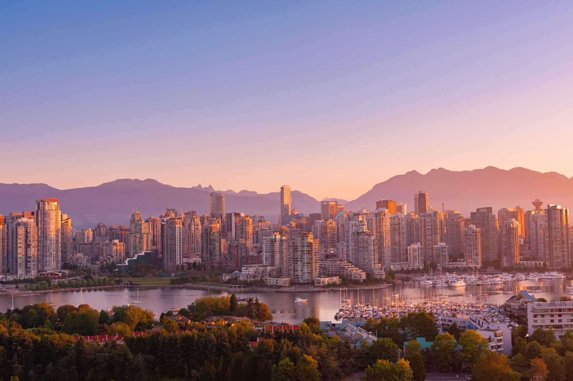 Natur och miljö står i fokus i Vancouver.