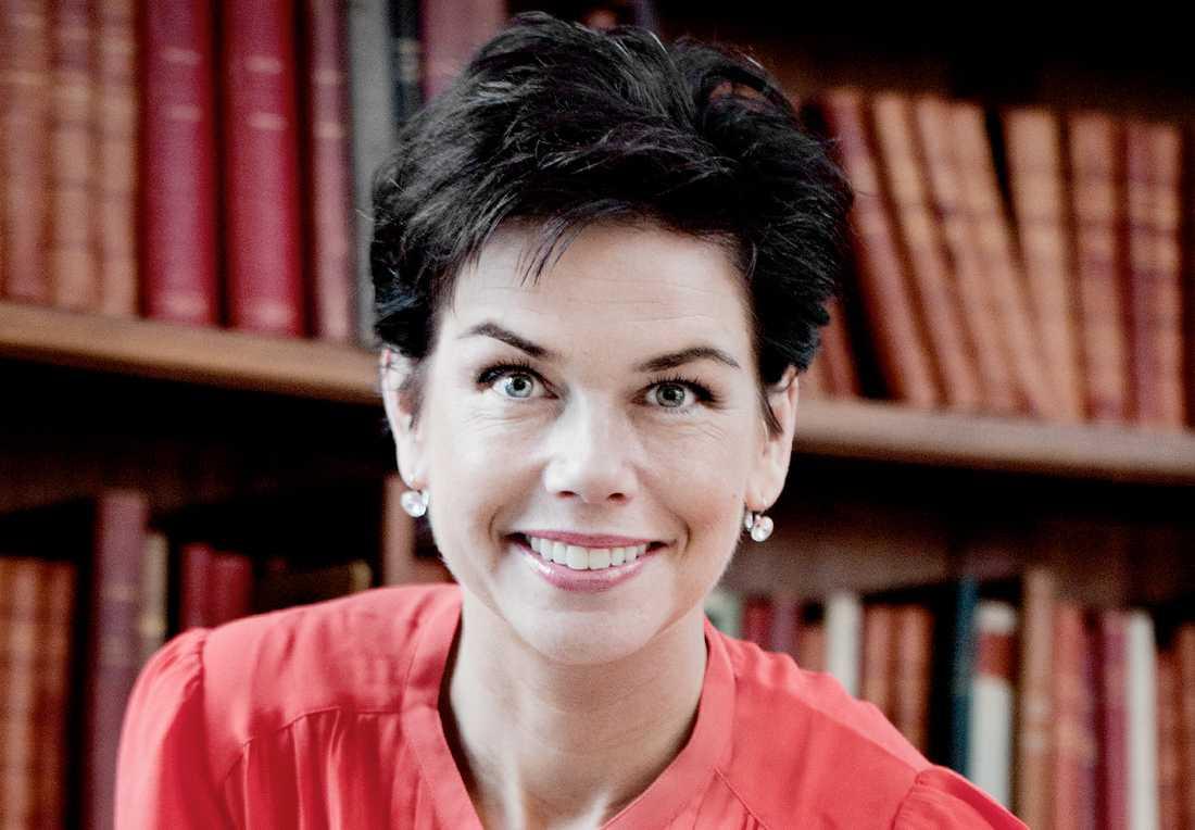 Sofia Larsen, före detta centerpartist och ordförande i riksdagens utbildningsutskott, nu  styrelseledamot för AcadeMedia.