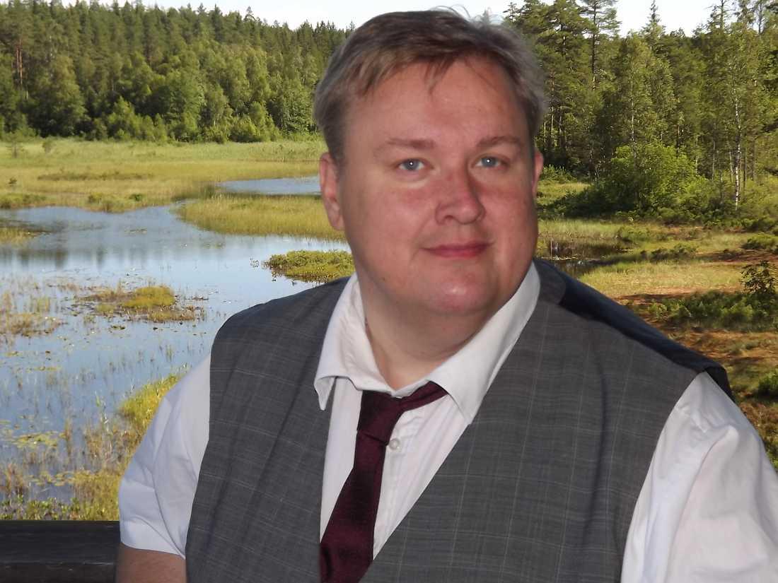 Tony Johansson, ordförande för Miljöpartiet i Mellerud.