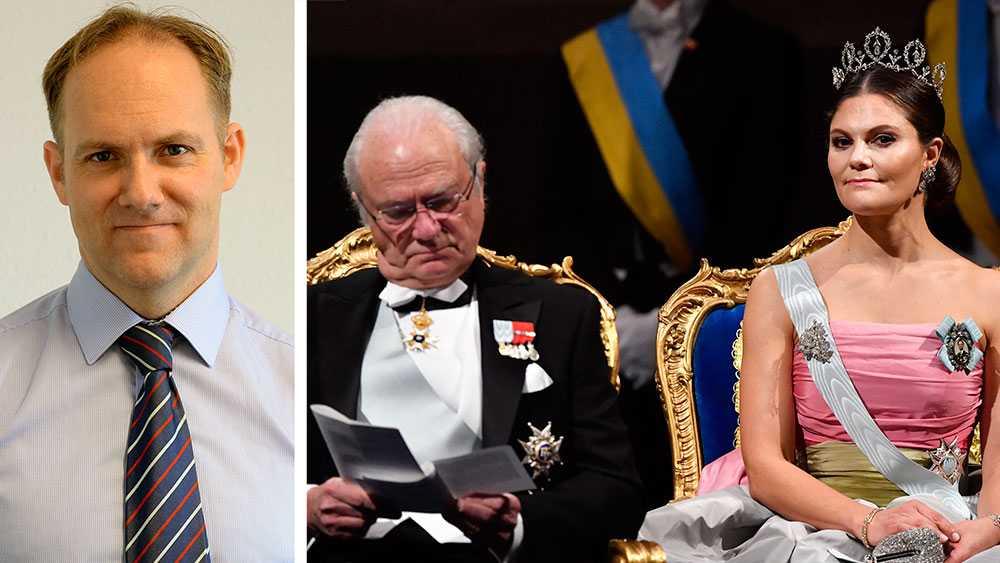 Denna kungafamiljs blodslinje anses viktigare än alla andra medborgares i detta jämlika land. Deras arbetsuppgift är att i evig tid producera en svensk statschef, skriver Ulf Bergström, nybliven ordförande för Republikanska föreningen.