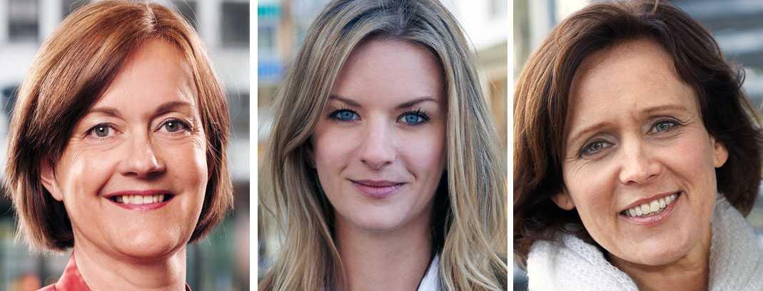 Ingela Gabrielsson, privatekonom på Nordea, Maria Landeborn, privatekonom på SBAB och Bodil Hallin, familjeekonom på Ikanobanken, är överens om att amortering är en bra sparform för många.