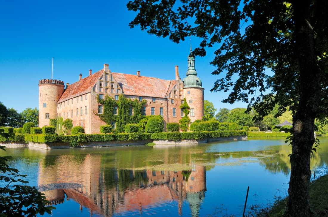 Vittskövle slott i Kristianstad kommun. Är inte öppet för allmänheten.