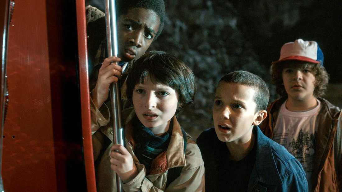"""Millie Bobby Brown spelar Eleven i """"Stranger things""""."""