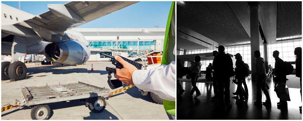 Det kan bli långa köer och förseningar om säkerhetspersonalen strejkar på flygplatsen i Madrid.