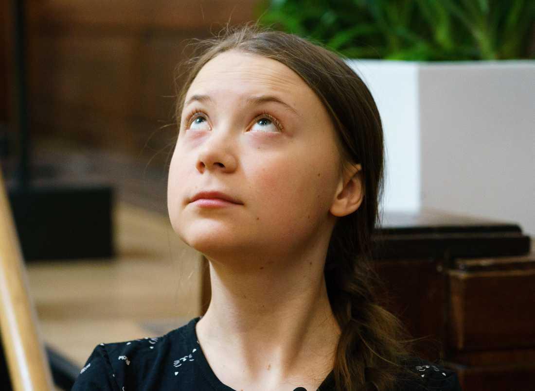 Greta Thunberg sprider klimatpanik, menar Ann Charlott Altstadt.