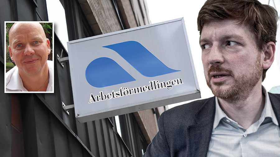 Mycket av den negativa bilden av Arbetsförmedlingen kommer från personer som inte alls har någon koppling till myndigheten, det kan vara politiska ideologier eller vinstintresse som ligger bakom, skriver Fredrik Andersson i en replik till Martin Ådahl.