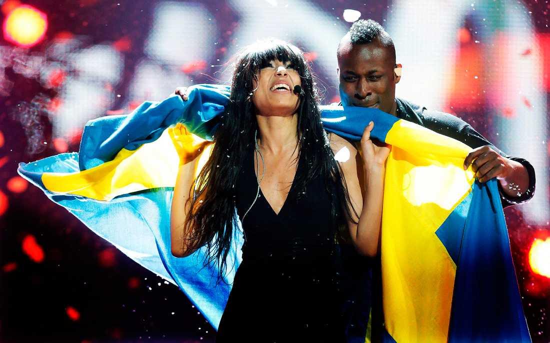 """Loreen blev vår femte blågula vinnare i Eurovision Song Contest med """"Euphoria""""."""