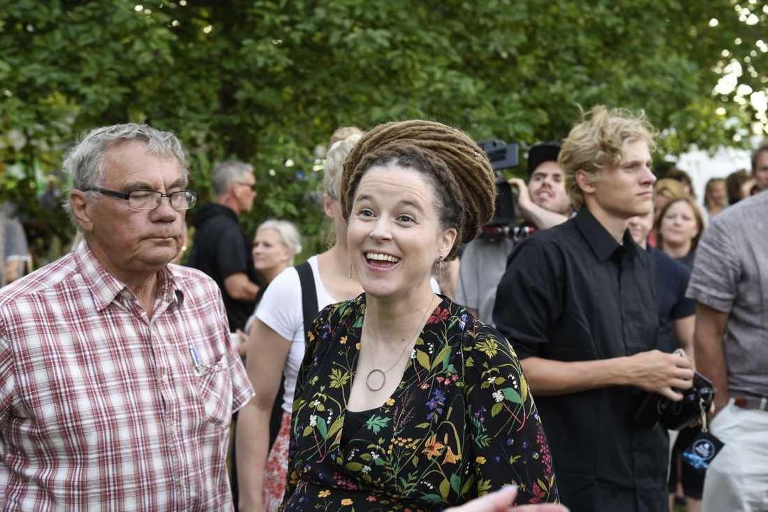 Amanda Lind (MP) kulturminister.