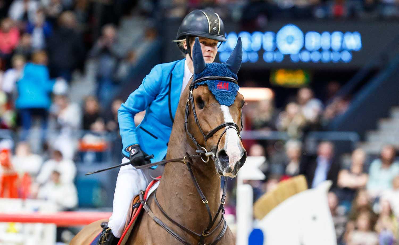 Malin Baryard Johnsson med Tornesch.
