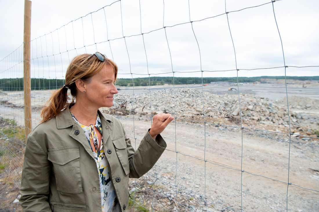 """""""Det kommer att bli en förändring. Men för att kunna klara framtiden och välfärden så är det här en fantastisk sak för en plats som Skellefteå"""", säger kommundirektören Kristina Sundin Jonsson om vad Northvolt kan innebära för staden."""