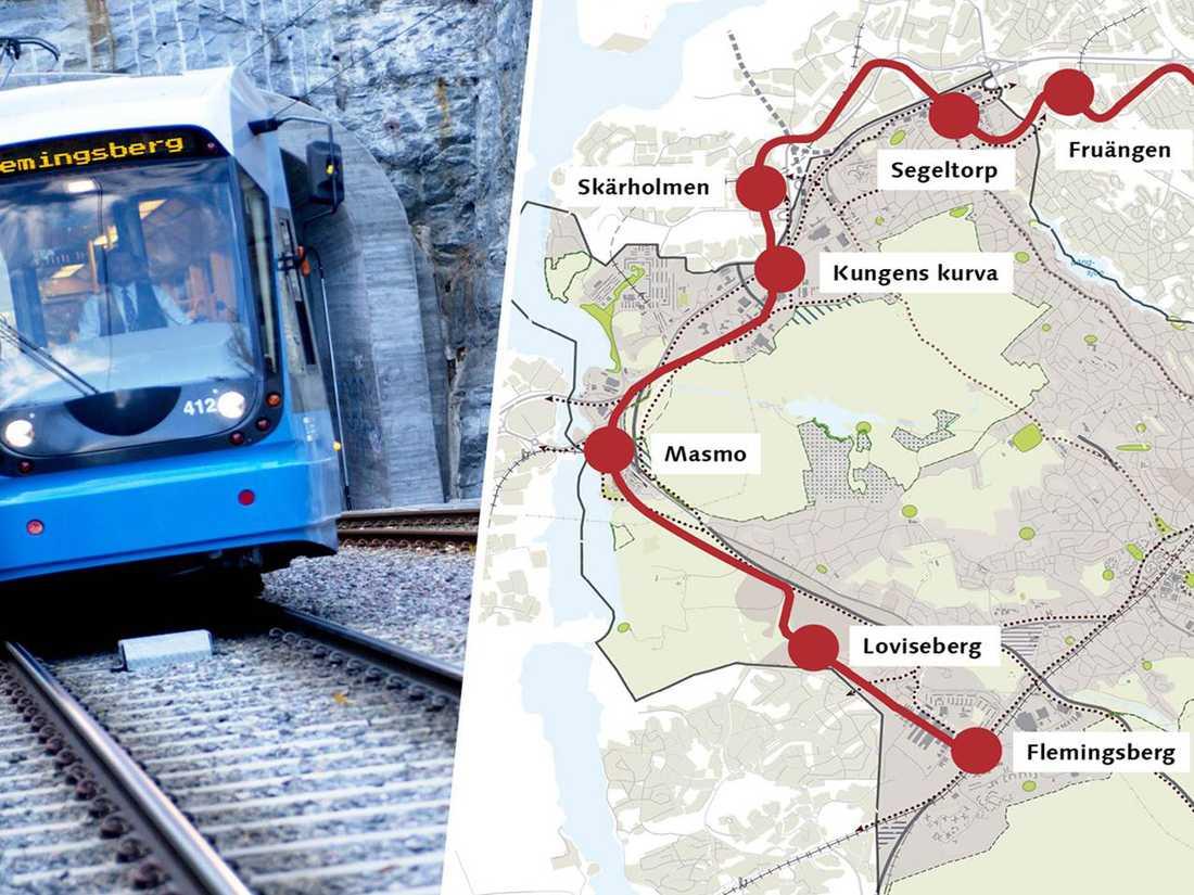 Passexpeditionen Flemingsberg Sollentuna Pass och