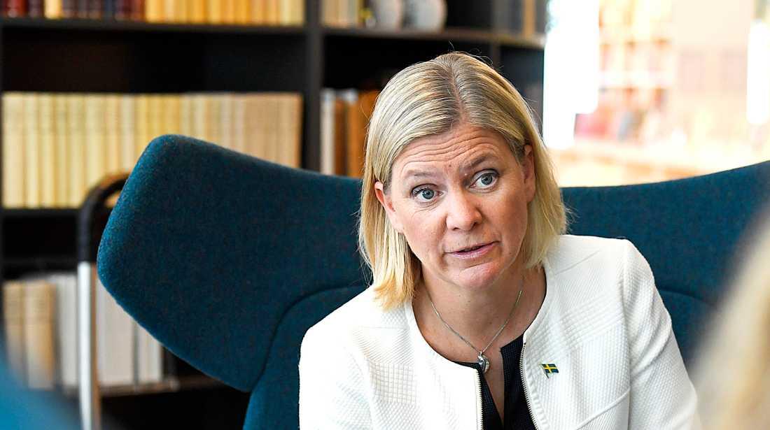 På torsdag överlämnar Magdalena Andersson årets höstbudget till riksdagen.