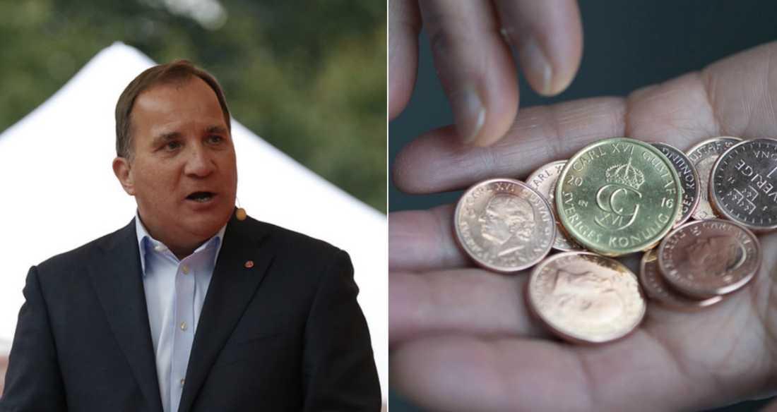 Stefan Löfven har lovat förbättringar för fattigpensionärer –nu utmanas han av SPF seniorerna.