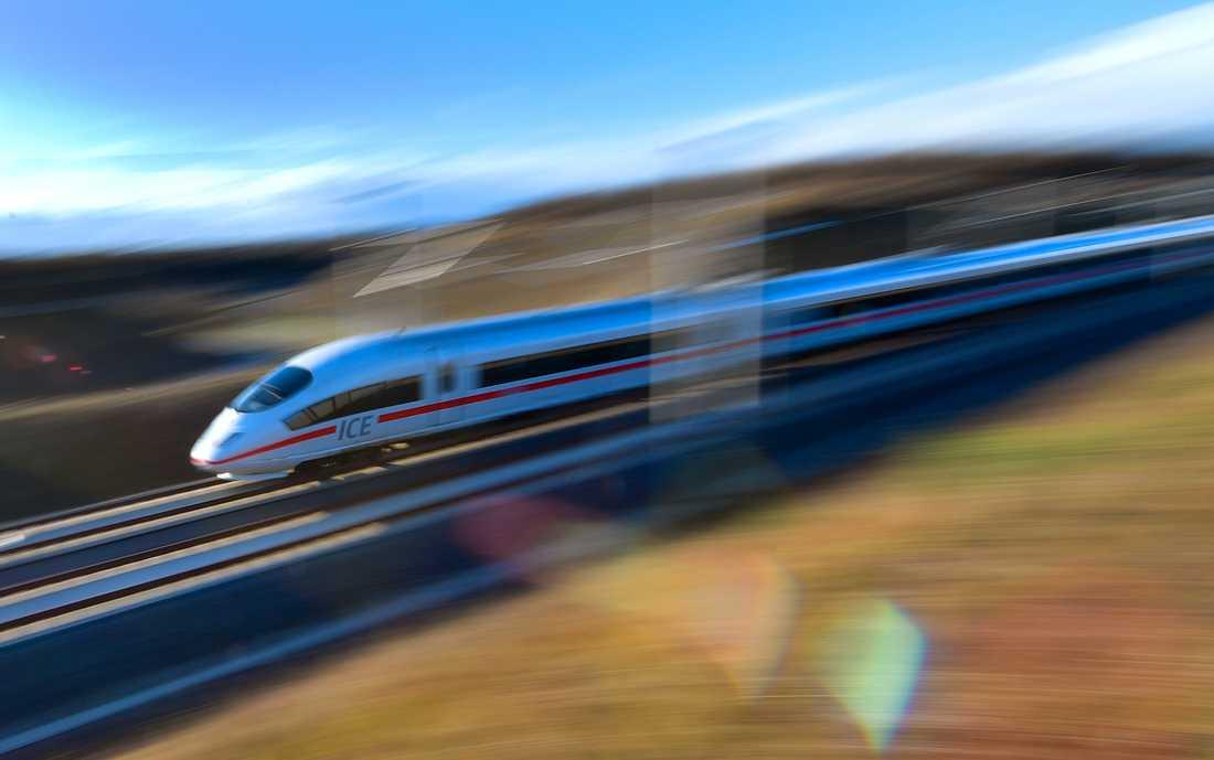 Ska höghastighetstågen få upp farten även i Sverige? Bilden är från den tyska linjen München-Berlin.