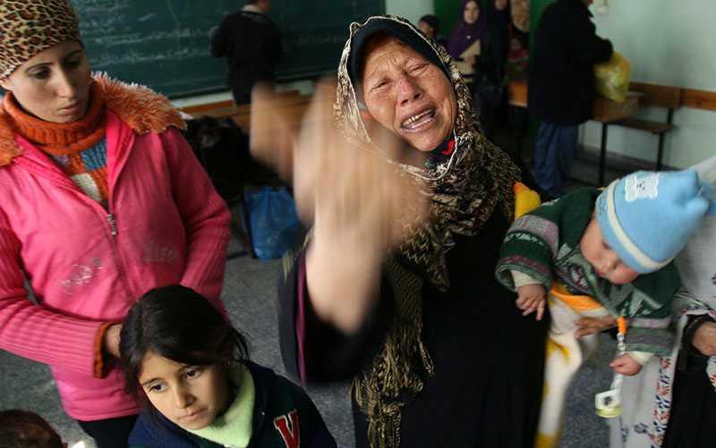 Attacken mot den palestinska skolan kostade 42 liv. Israel hävdar att den var bas för militär verksamhet – men FN hävdar att inga militärer fanns i skolan.