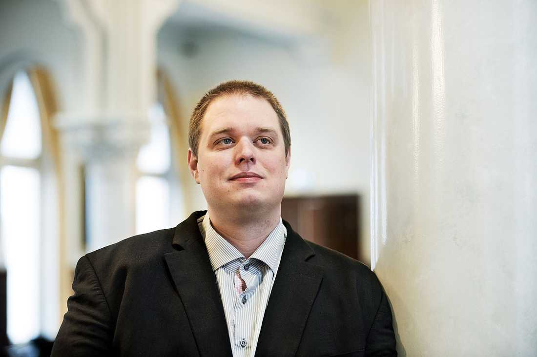 Riksdagsledamoten Jonas Millard (SD).