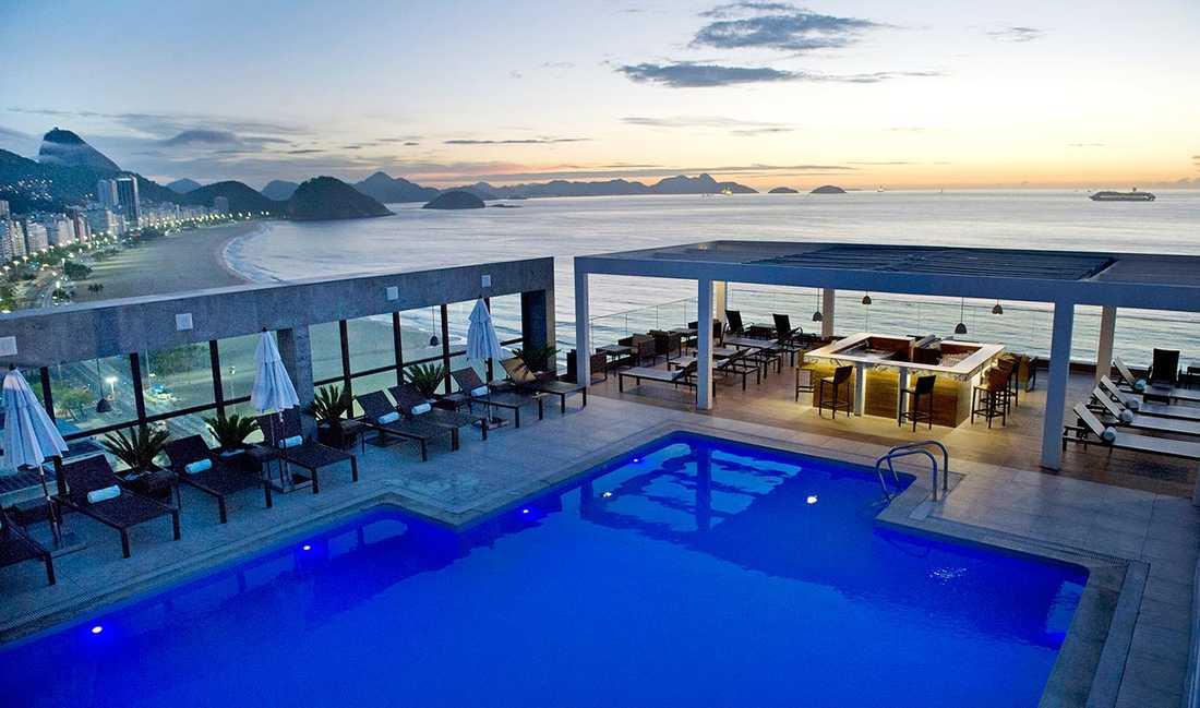 Hotellet Pestana Rio Atlantica i Rio.